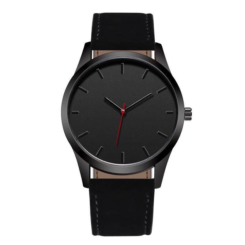 Reloj Thời Trang Mặt Lớn Quân Sự Thạch Anh Nam Dây Da Đồng Hồ Thể Thao Đồng Hồ Đồng Hồ Đeo Tay Đồng Hồ Relogio Masculino T4 bán chạy