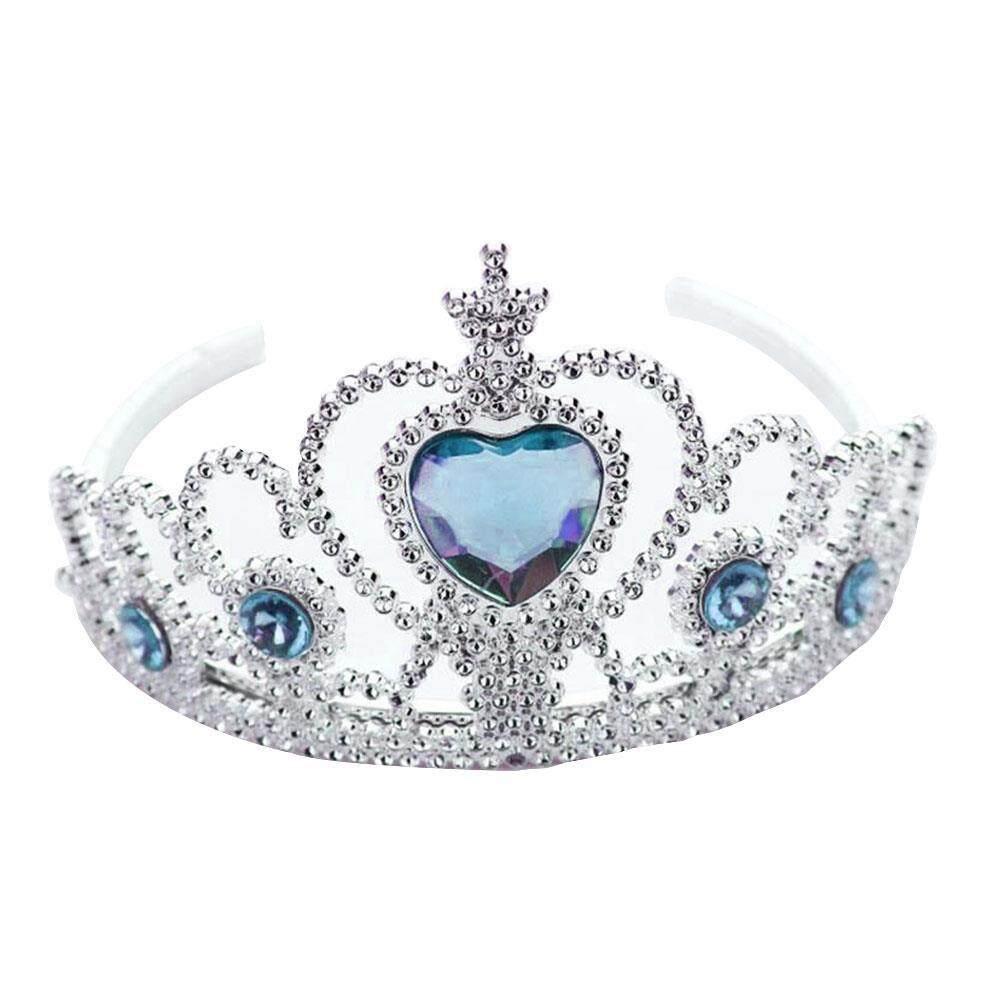 Boom-Anak-anak Perempuan Anak Kecil Cosplay Crown Kostum Putri Sihir Elsa Pesta Mainan-Internasional