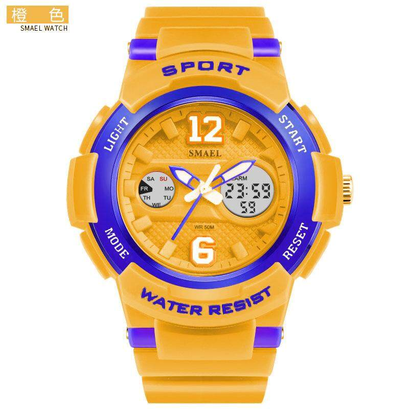 e2195d8826c SMAEL Women Sports Series Electronic Watch Quartz Watch Colorful Cool Sports  Hip Hop Multi Function Watch