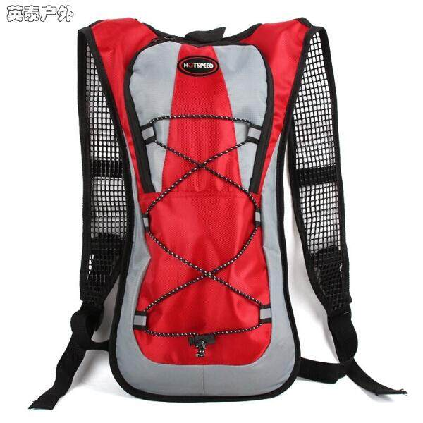 【Red - HOTSPEED non-aqueous bag】British banner outdoor sports riding water bag bike bag mountaineering travel water bag backpack men and women backpack riding bag