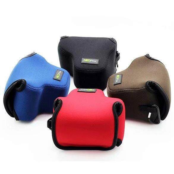 Neoprene Soft Camera Case Bag Pouch For Canon EOS M5 M50 with 15-45mm lens