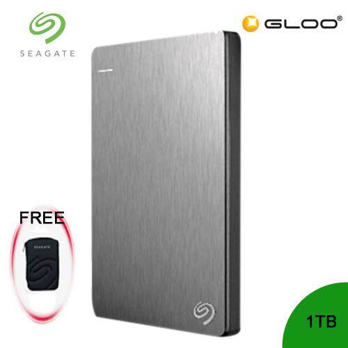 Seagate Backup Plus Portable Drive 1TB - Silver STDR1000301 FREE Hard Pouch Casing [Purchase on 3rd-16th Sept 2019 and Get complimentary RM10 Aeon voucher + RM 20 Starbucks Card *while stocks last]