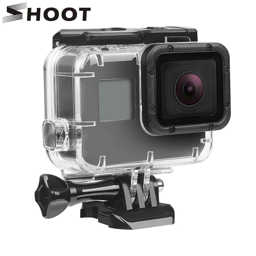 SHOOT Protective Waterproof Case Mount for GoPro Hero 6 5 7 Black Action Camera Case Housing