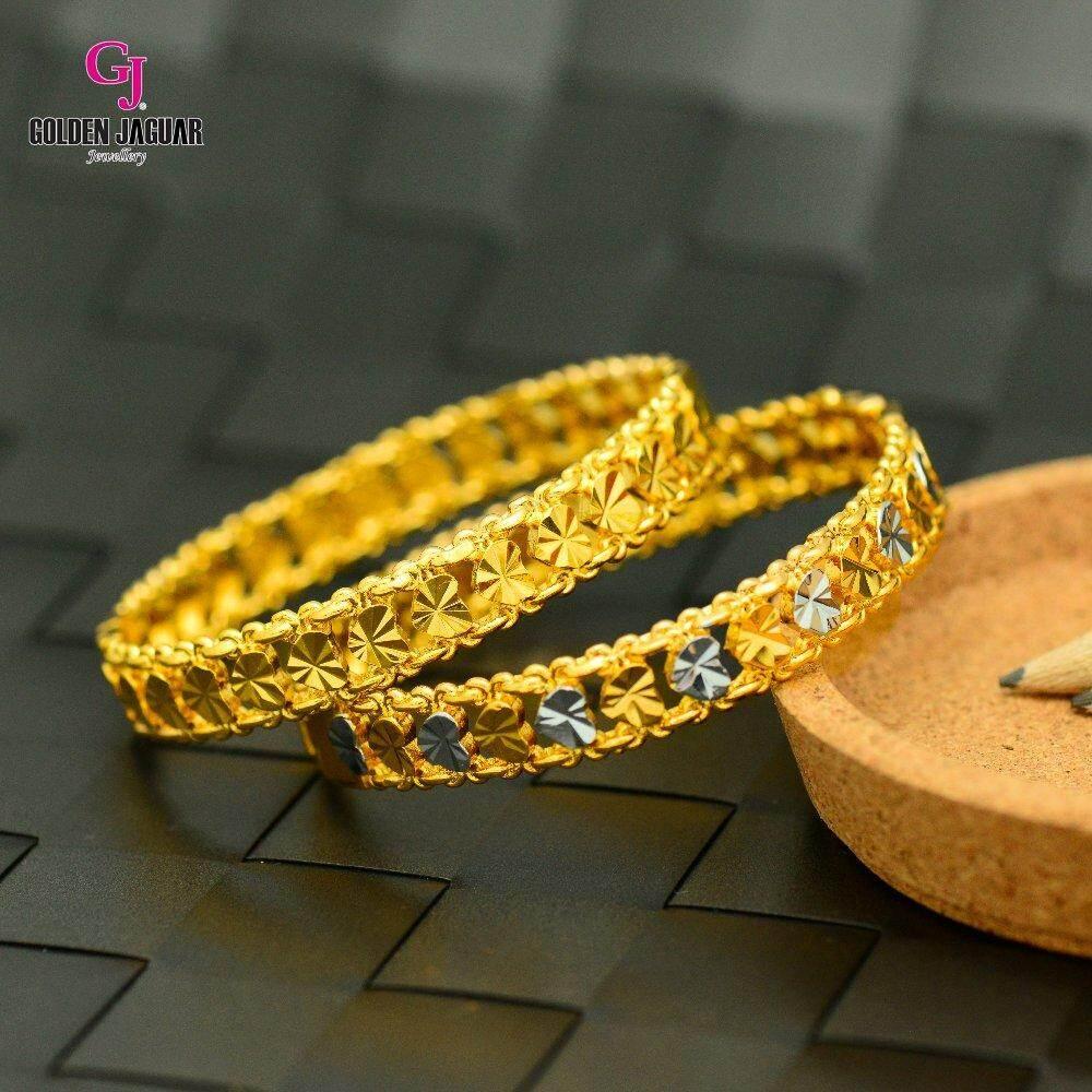 Emas Korea Golden Jaguar Bangle (GJJ-59694)