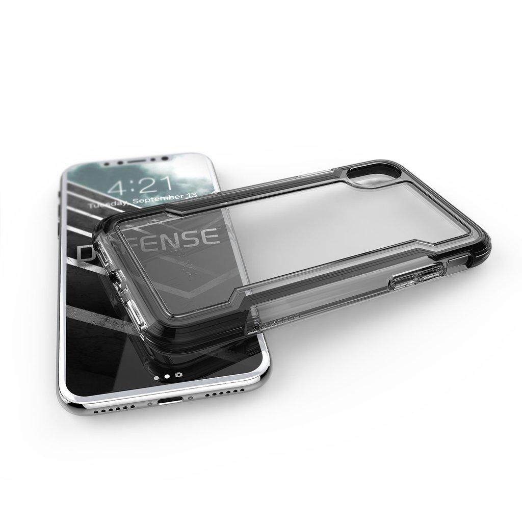 Original X-Doria Defense Clear Black Case For Apple iPhone X iPhone XR iPhone XS Max iPhone 7 iPhone 8