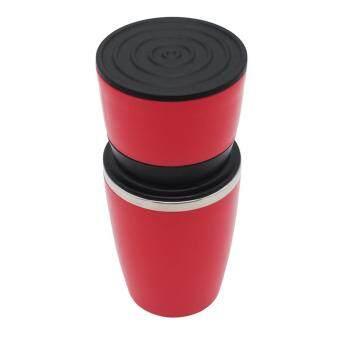 การตรวจสอบของ 240ML Manual Coffee Maker Portable Mini Burr Coffee Grinder Hand Pressure Espresso Machine Pressing Bottle Coffee Cup ซื้อ - มีเพียง ฿397.89