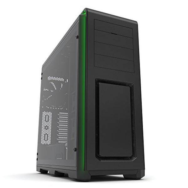 [From.USA]Phanteks Enthoo Luxe PH-ES614LTG_BK Black Aluminum Exterior/Steel Chassis/Tempered Glass Panel, Full Tower ATX Case B01M5JOEPJ Malaysia