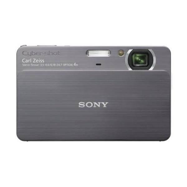 Sony Cybershot DSC-T700 10MP Kamera Digital dengan 4x Optical Zoom dengan Super Tembakan Mantap Stabilisasi Gambar (Abu-abu)