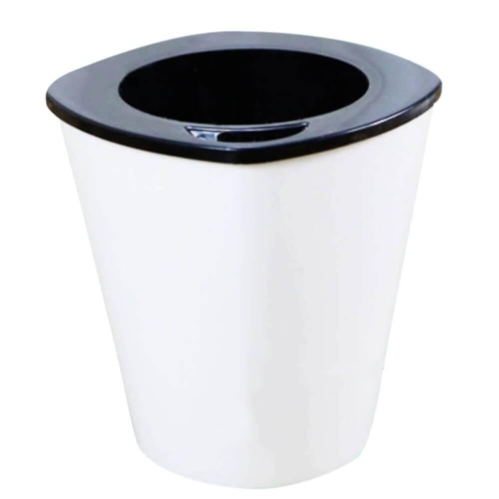 Medium Self watering Pot (HT18) Hydroponic Pot Pasu Hidroponik Menyiram Sendiri (White Square Medium Size Flower Pot)