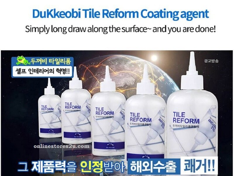 Stores2u Original Korea Du Kkeobi Tile Reform Waterproof