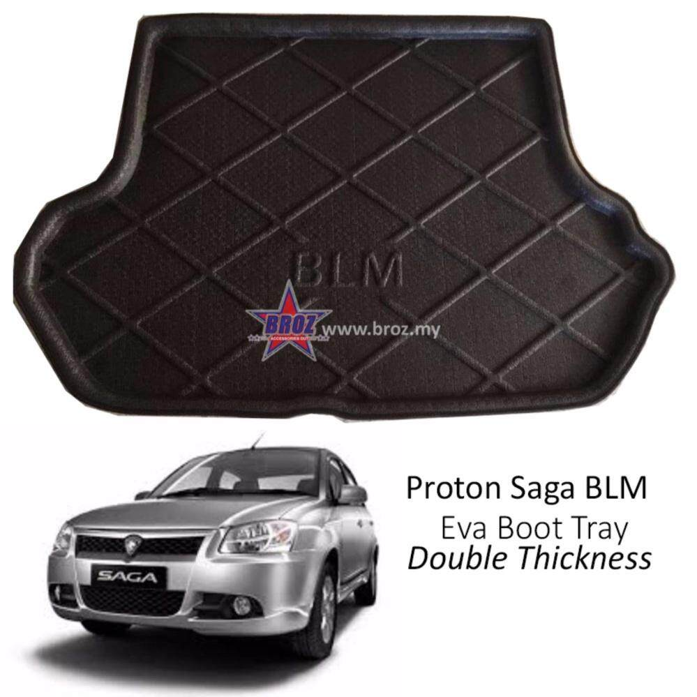 Proton Saga BLM EVA Copolymer Car Boot Tray Luggage Cargo Trunk Tray