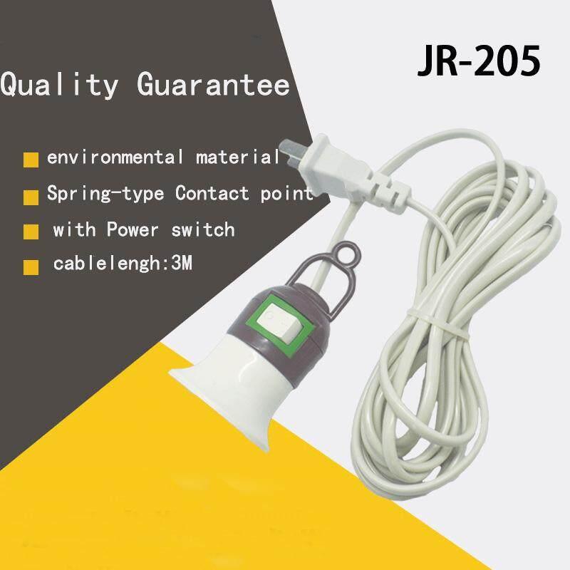 Gracekarin Online E27 Screw Light Bulb Lamp Holder Socket w/ Switch Power Cable Cord Light Stand