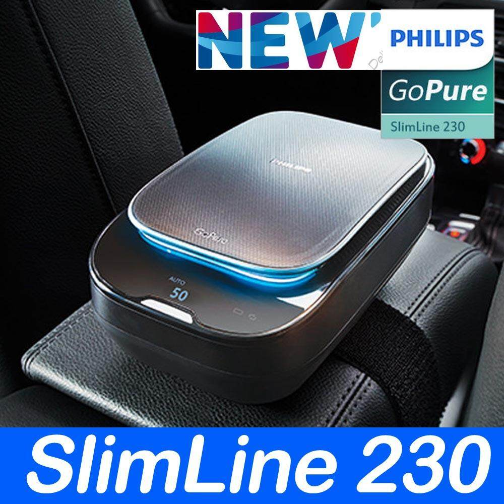 Philips New GoPure SlimLine 230 Air Purifier for Car Clean Convenient - intl