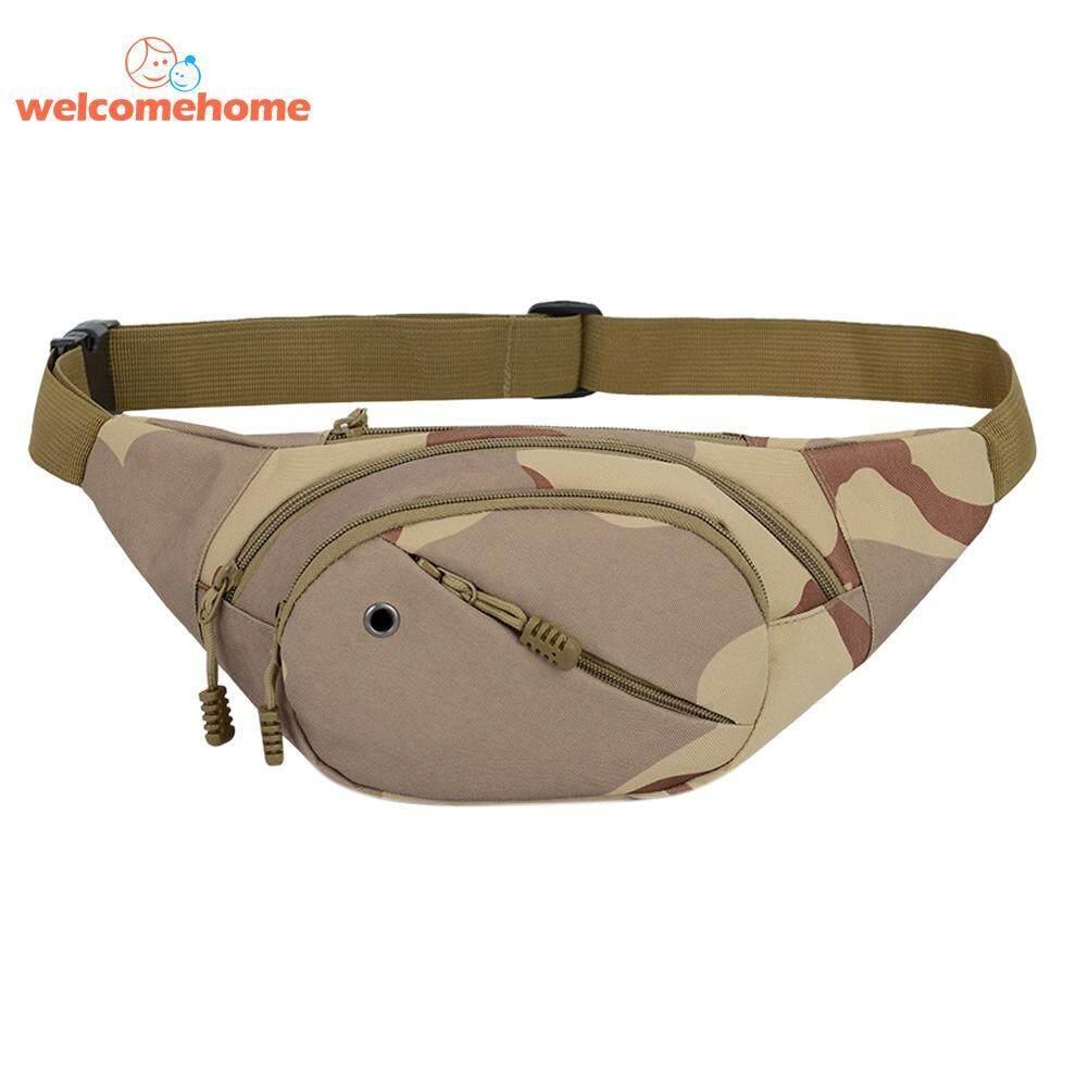 Portable Kamuflase Olahraga Pria Kanvas Tas Pinggang Selempang Di Luar  Ruangan Messenger Tas Tangan Cangklong- e7cb0fce53