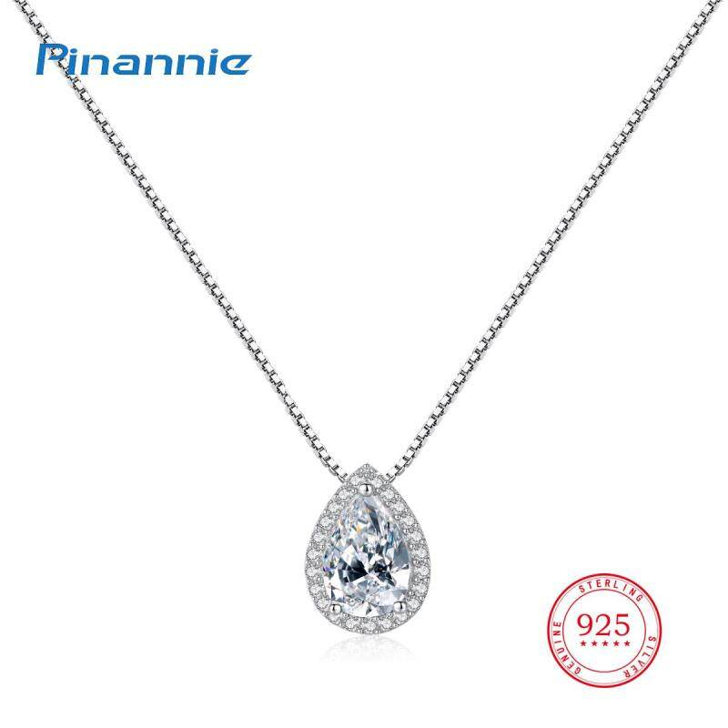 Pinannie Vòng cổ nữ bạc 925 Mạ vàng trắng Trang sức cao cấp thời trang