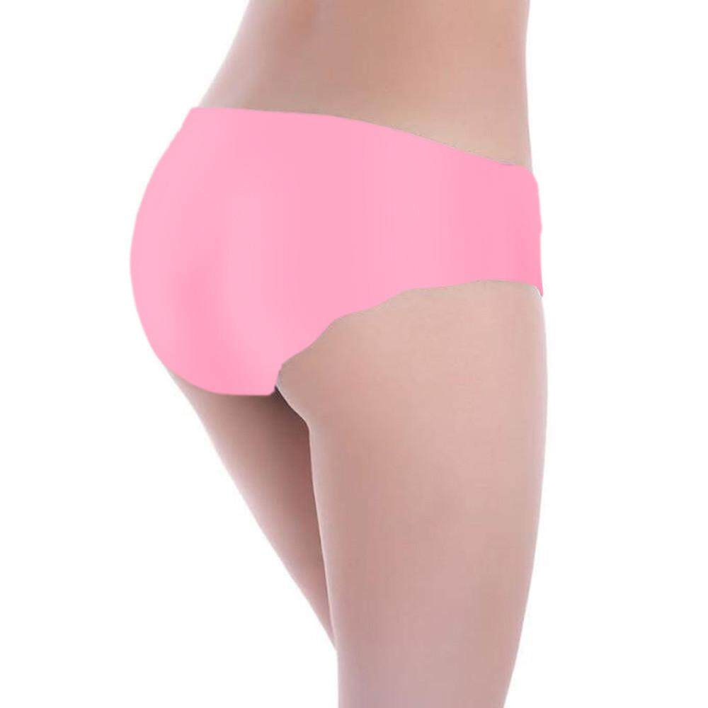 Celana Dalam Wanita Tak Terihat Thong Cotton Nylon Gas Selangkangan Mulus abe1adb303