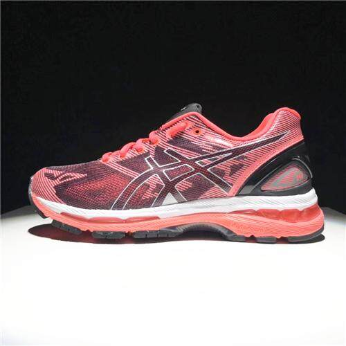 Running Shoes Sneakers New Arrival Women's OCTIPOD CUPSOLE Top Quality FlyteFoam Official Sports Shoes Non-Slip Asics-Gel Nimbus 19 Red Black EU:36 - intl