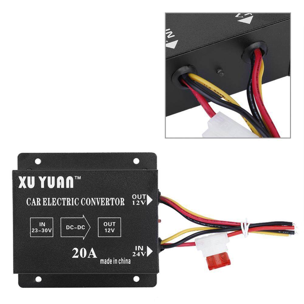 Car Inverter For Sale Power Converter Online Brands Prices 24v To 12v 400w Dc Circuit Diagram Justgogo 20a 240w Electric Voltage Reducer Step Down