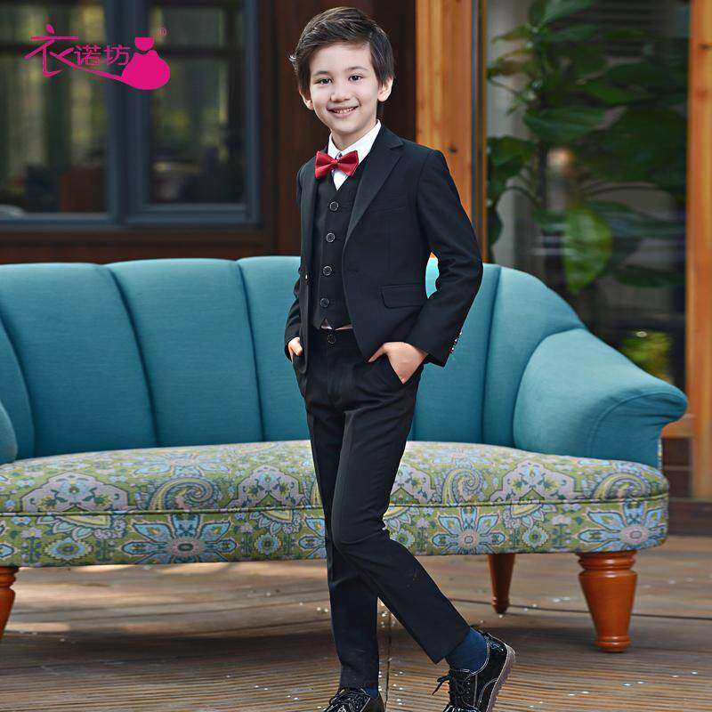 bf3bfcd2447a0 Children Small Suit Set Flower Boys/Flower Girls Coat Three-piece Set Formal  Dress