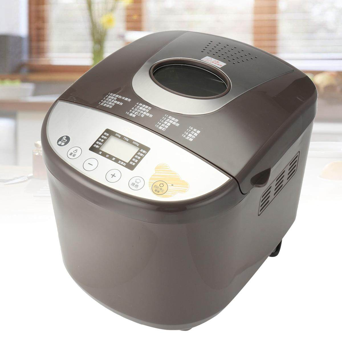 Stainless Steel 650w Electric Bread Maker Machine Programmable Home Kitchen By Glimmer.
