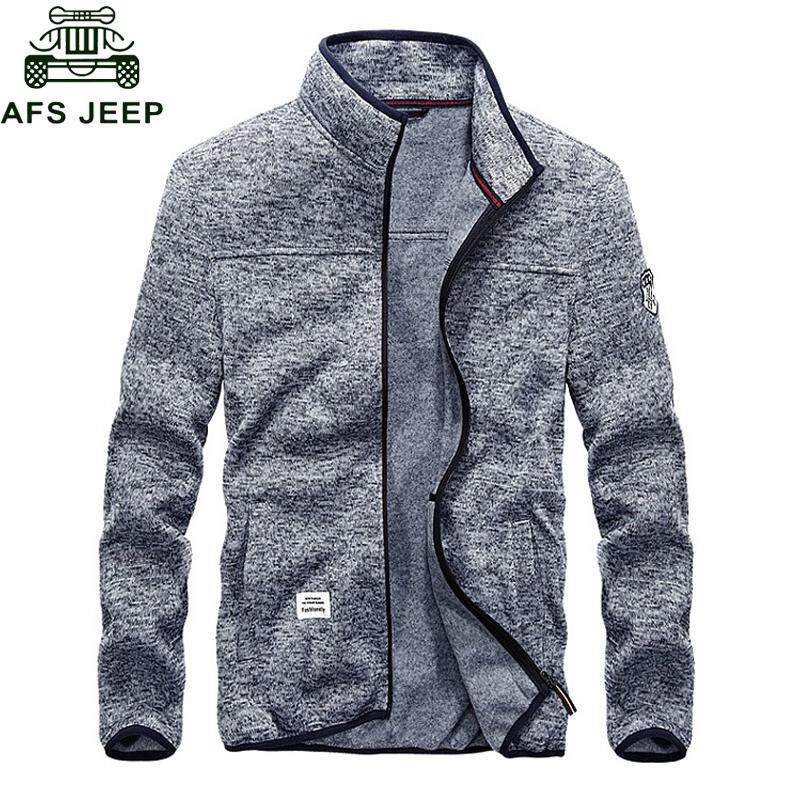 ZZOOI Afs Jeep Spring Autumn Bomber Jacket Men Big Size M-4xl Casual  Fashion Windbreaker 232656678c