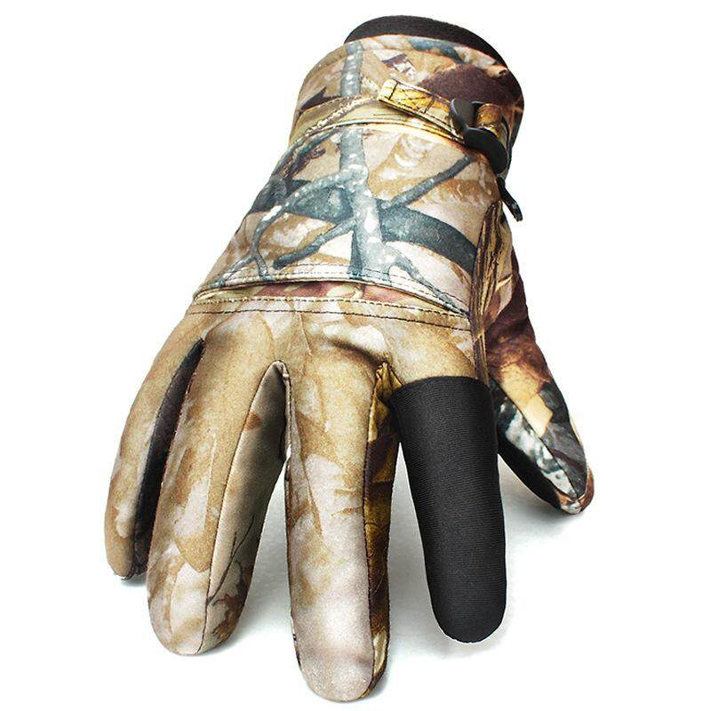 Men Women Warm Tactical Shooting Waterproof Windproof Gloves Full Finger Outdoor Ski Hunting Gloves By Freebang.