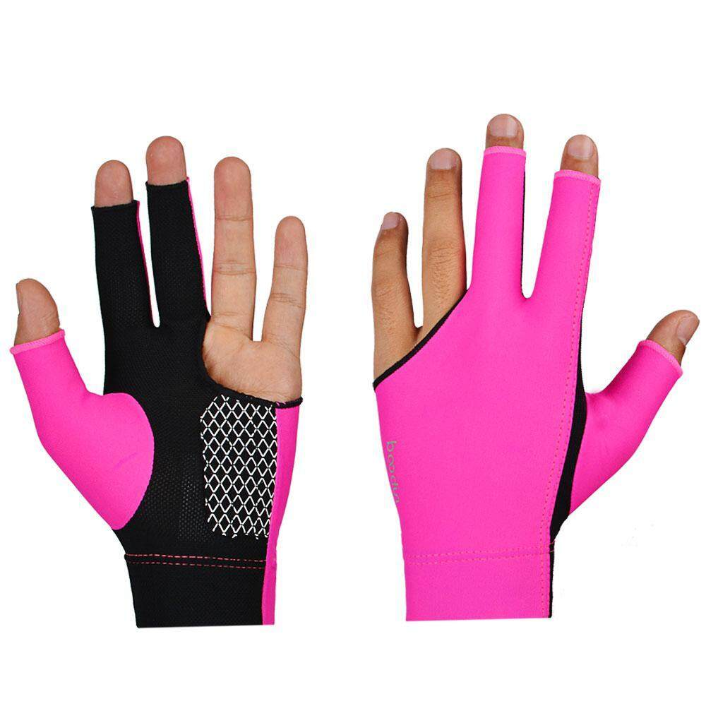 Leegoal Cue Billiard Pool Shooters 3 Fingers Gloves Billiard Gloves Snooker Gloves-L By Leegoal.