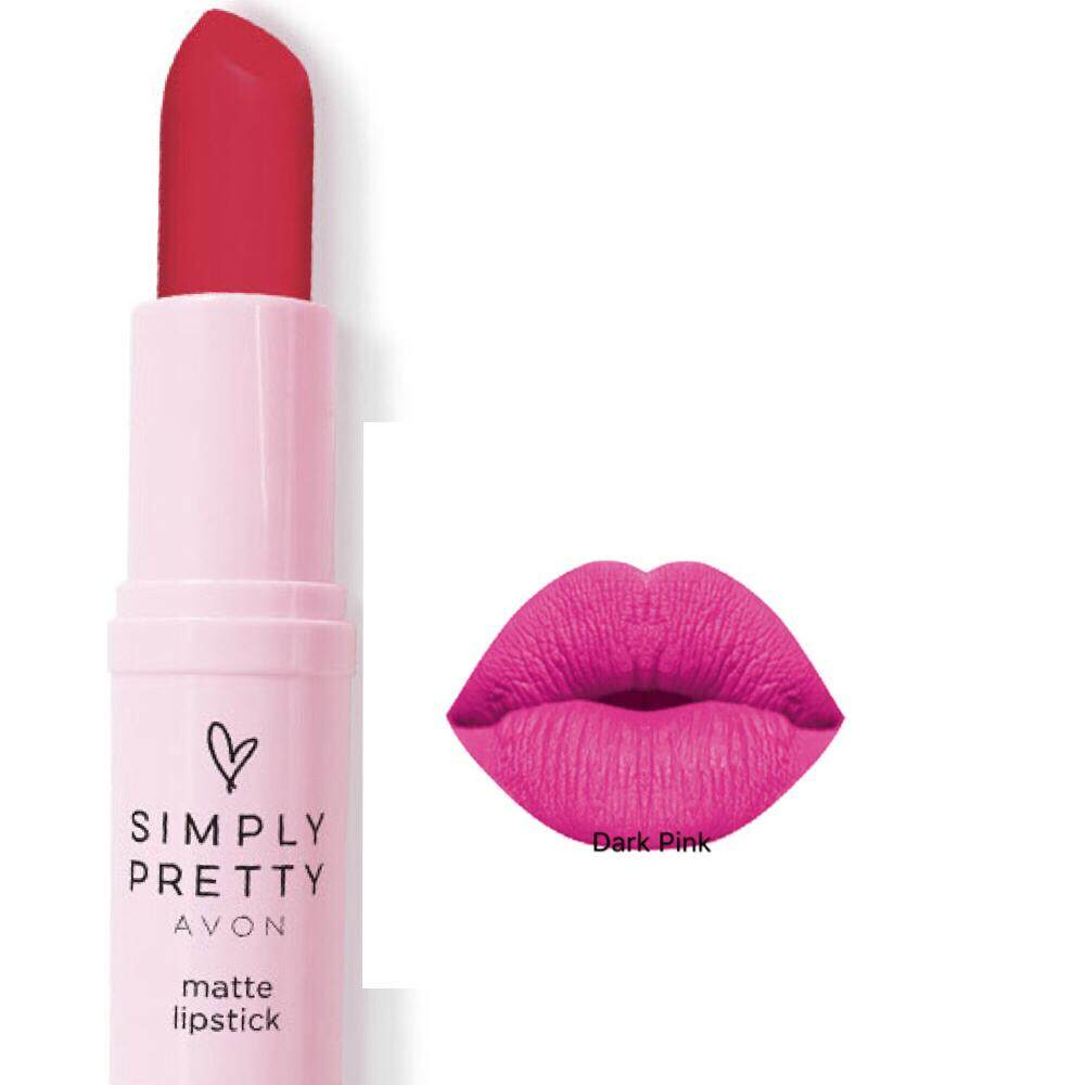 Fitur Wardah Lipstick Matte 18 Rossy Pink Dan Harga Terbaru Info Lip Avon Simply Pretty Dark