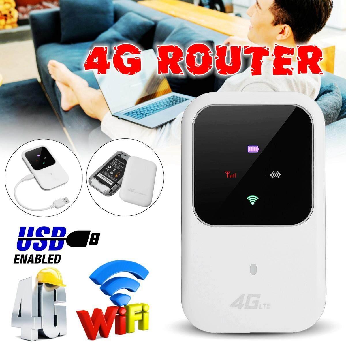Portatile 4g Router Lte Wireless Car Mobile Wifi Hotspot Sim Card Slot Batteria By Audew.