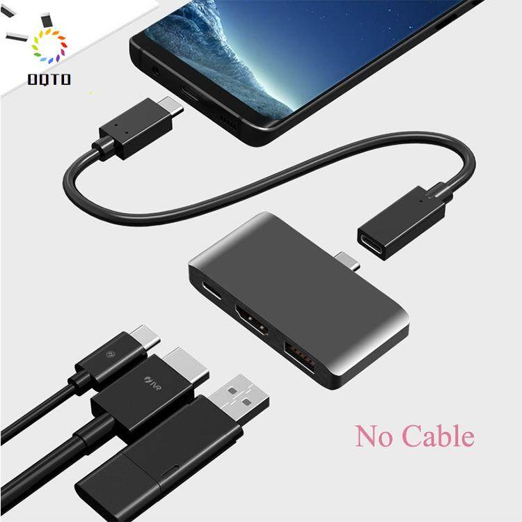 USB C to HDMI 4K supports Dex mode with USB hub 3.0 for Nintend switch, windows10.8.7, vista, xp, mac10.4.6