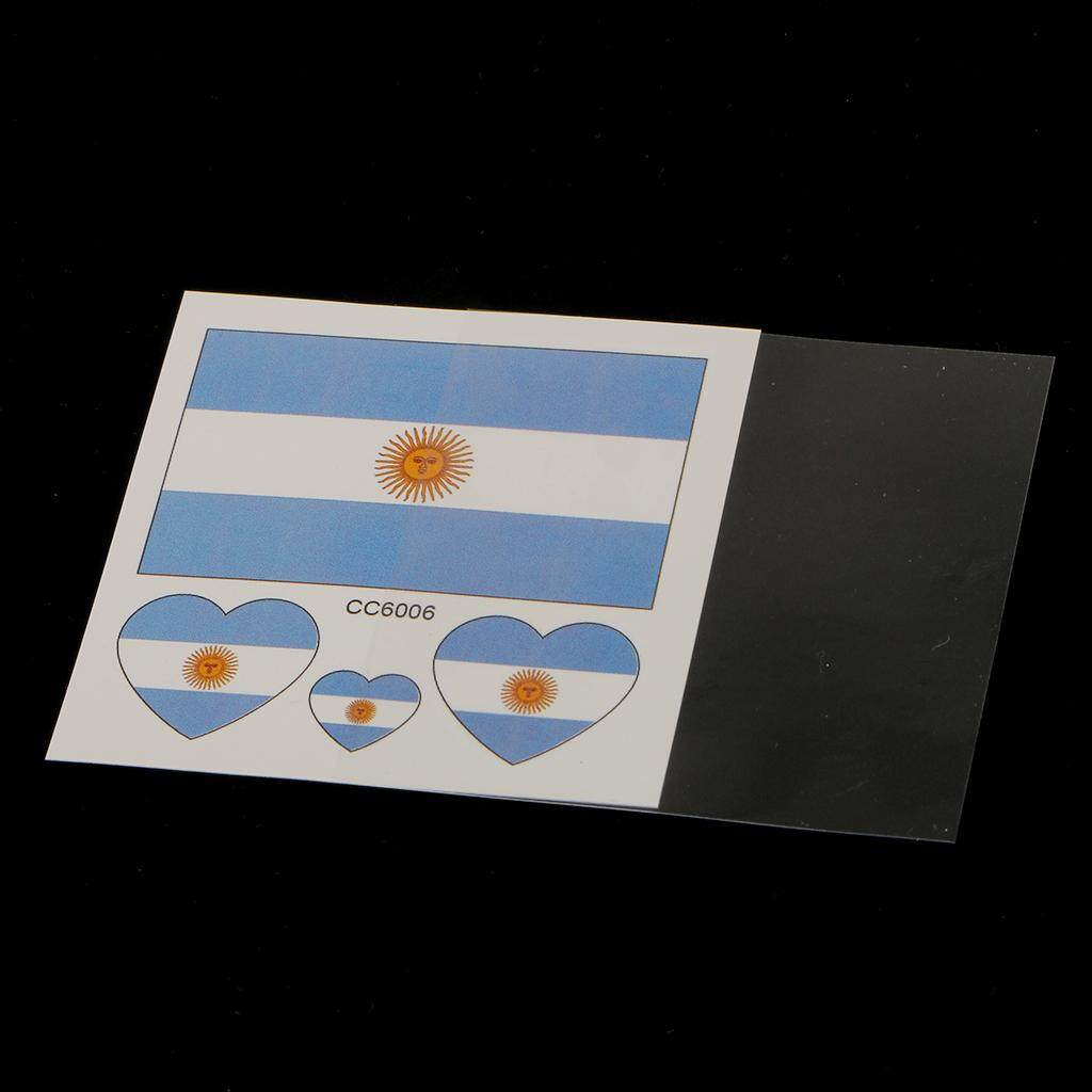 Flameer 50 Pack Flag Stickers Euro Cup Football European Championship Cheer C By Flameer.