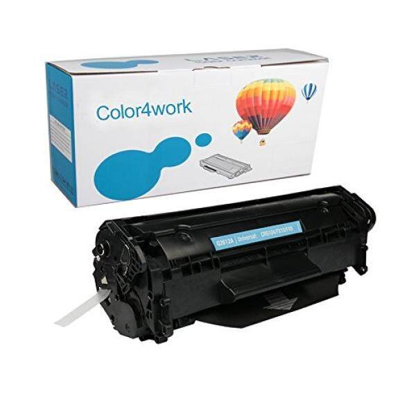 Color4work Color4work Q2612A Toner Cartridge 1 Pack Black Replacement for HP 12A Canon FX-9 Compatible for HP laserjet 1020 1010 1012 1018 1022 1022 3015 3050 3052 3055 1015 3030 M1005 M1319F Series Priter - intl