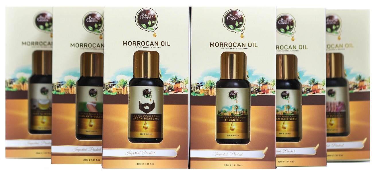 BioPro Green 100% Pure Organic Argan oil - Minyak Argan 30 ML (Imported Morocco