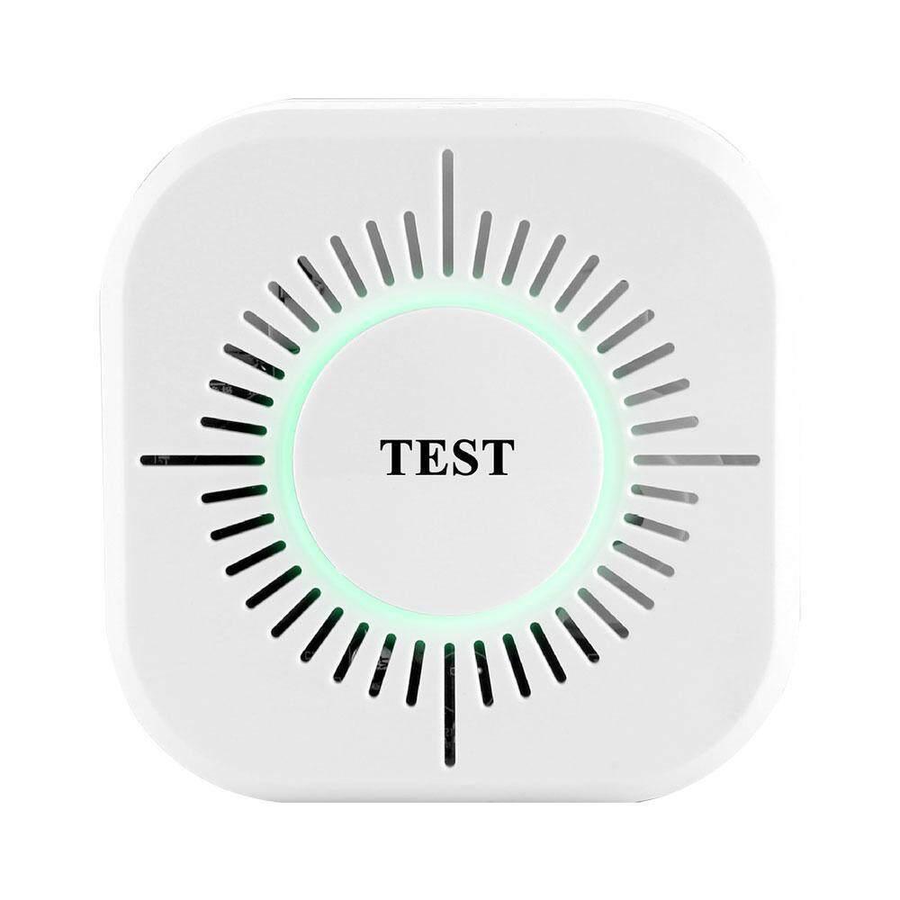 Shangqing Sensitivitas Tinggi Cordless Smoke Api Sensor Fotolistrik Detector untuk Sistem Alarm Rumah-Internasional