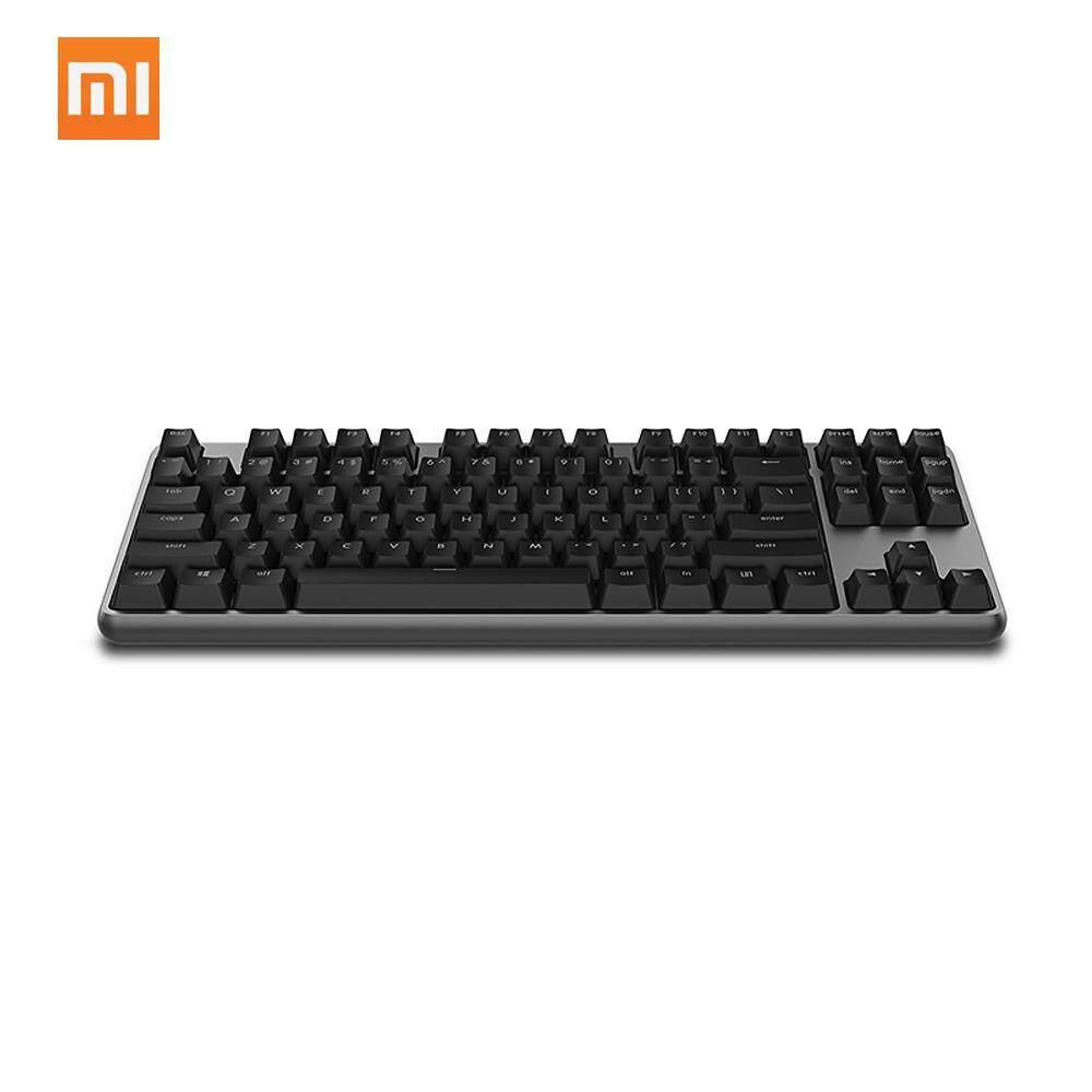Xiaomi Yuemi Keyboard Mekanik Pro 87 Keys LED TTC Sakelar Merah Lampu Latar Permainan Lampu Belakang Keyboard Alumunium Alloy untuk Gamer Laptop-Intl