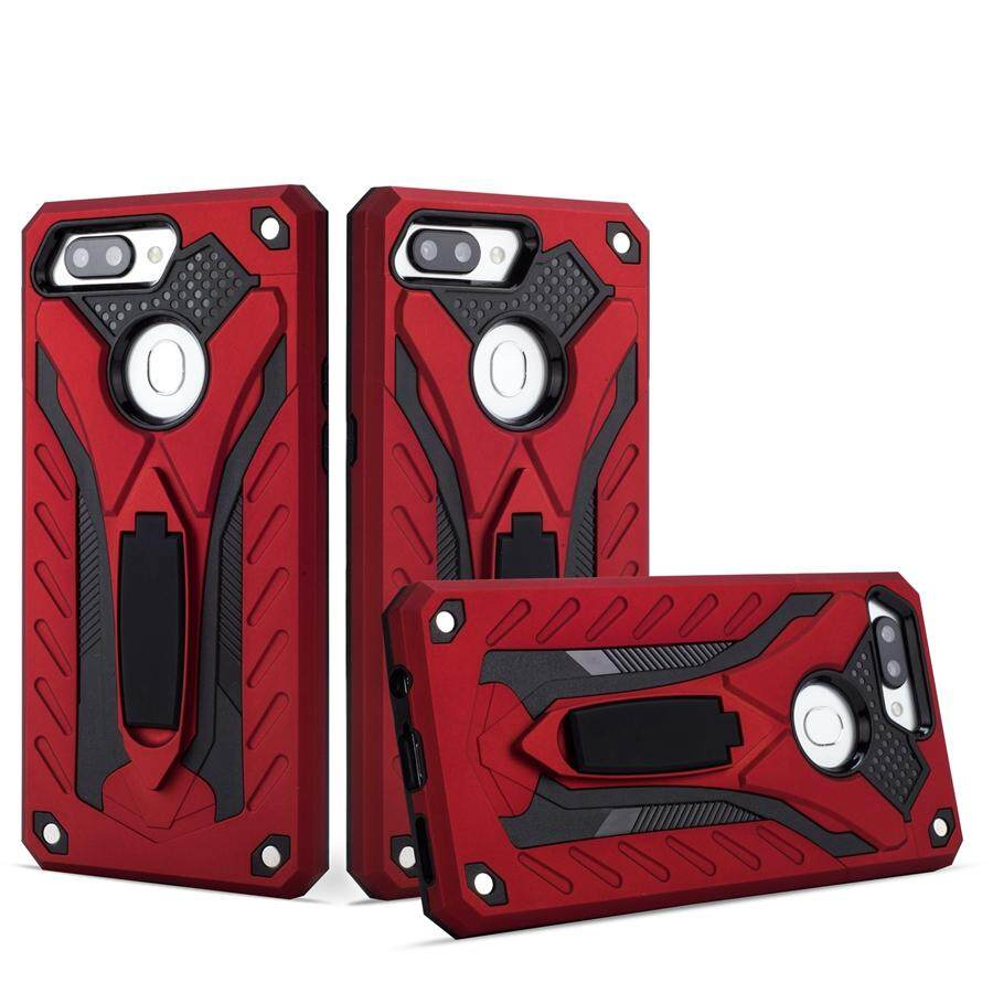 Cool Design For Vivo V7 Plus Impact Cover with Stand Holder Armor Hybrid PC+TPU 2 In 1 Protection Phone Case
