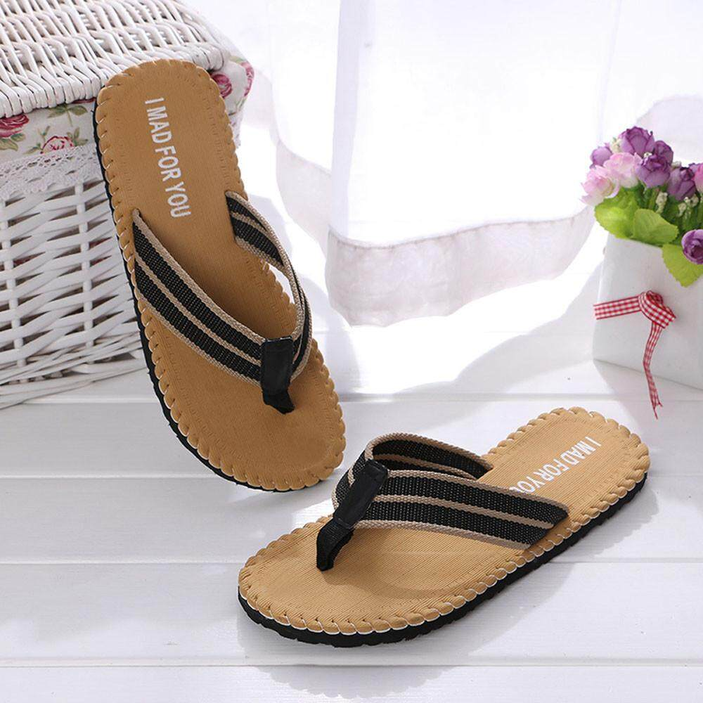 c9fb8495f4c137 Cozy Men Summer Shoes Sandals Male Slipper Indoor Or Outdoor Flip Flops -  intl