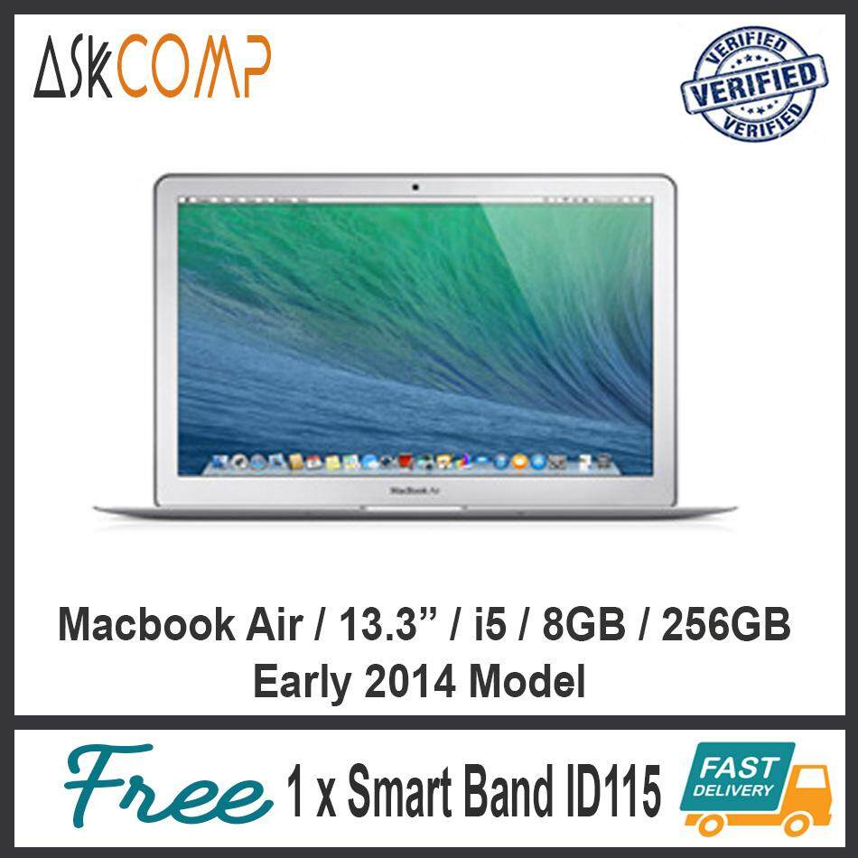 [Refurbished] Macbook Air 13.3 / i5 / 8GB / 256GB / 2014 / 6 Month Warranty Malaysia