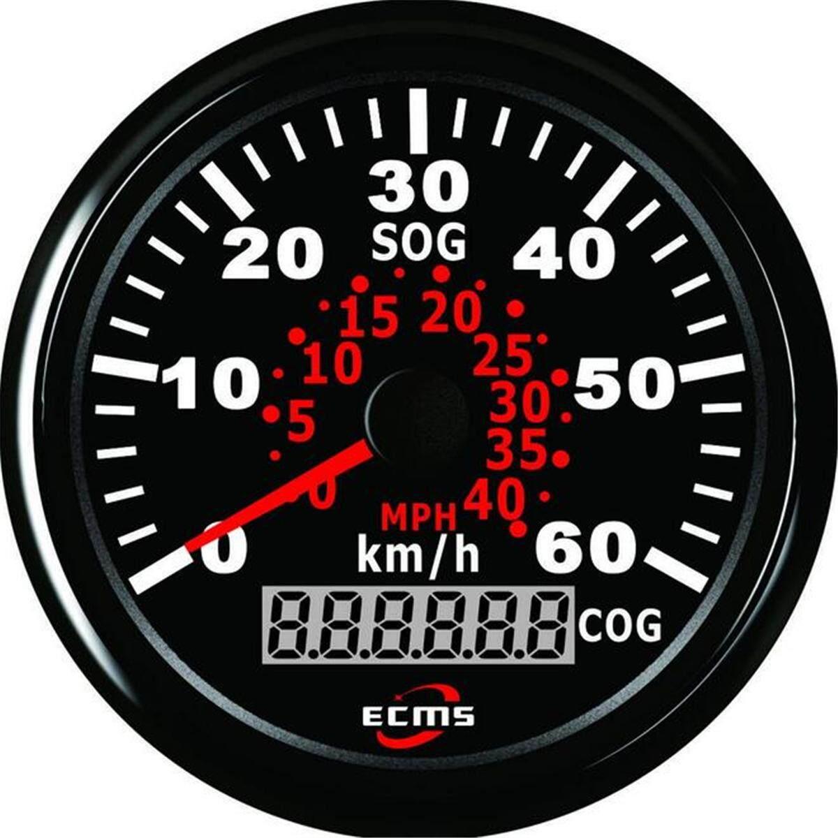 Au 85mm Waterproof Auto Car Truck Marine Speedometer Gauge Gps Digital Odometer By Glimmer.