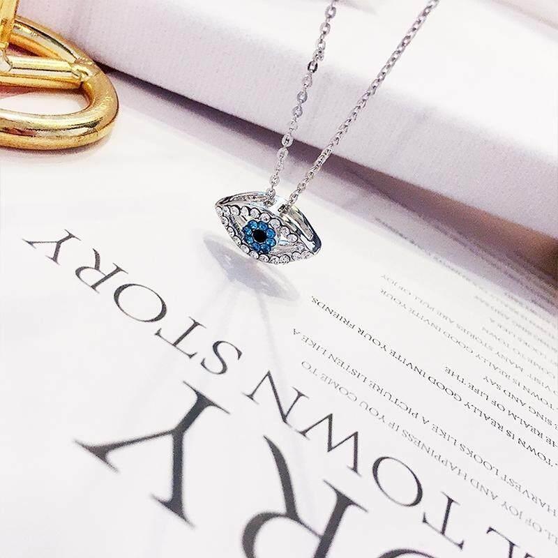【11 Mata Setan A】Anting Korea sederhana kepribadian telinga liar perhiasan kalung liontin anting