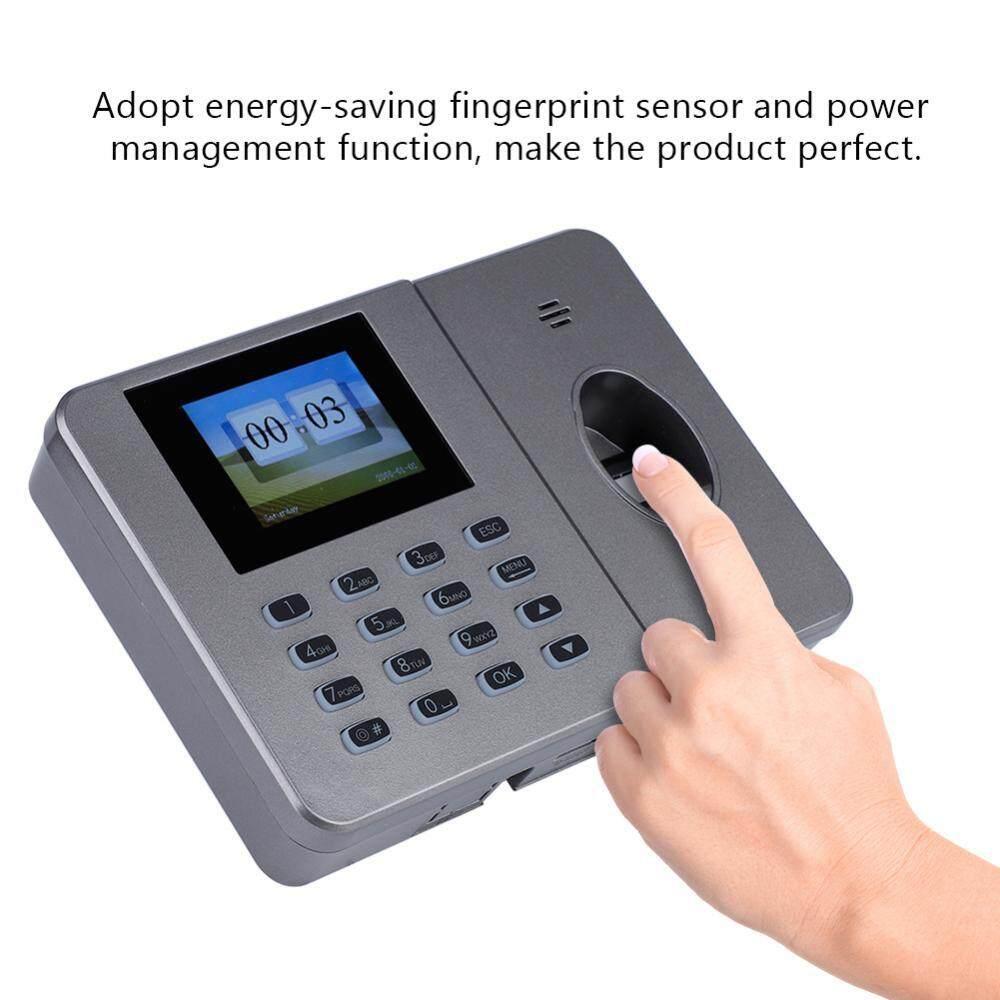 1.8-inch TFT screen C27 Office Fingerprint Attendance Machine Biometric Fingerprint Time Attendance (US 110-240V)