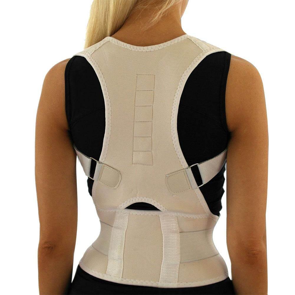 Diy Posture Support Home Design Power Magnetic Back Corset B F Sitting Corrector Adjule Shape Shoulder Brace Belt Men And Women Vertebra