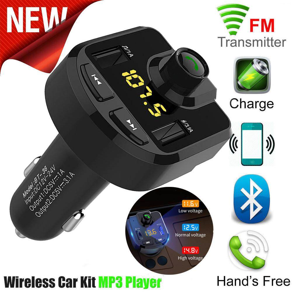 Car Stereo For Sale Cars Online Brands Prices 2009 Hyundai Accent Fuse Diagram Bluetooth Fm Transmitter Wireless Radio Adapter Usb Charger Mp3 Player