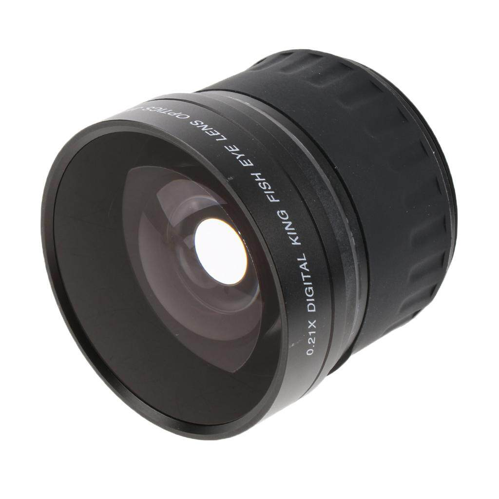 Miracle Shining 52mm 0.21X Super Wide Angle Fisheye Lens for Nikon D7100 D5200 D3300 D60
