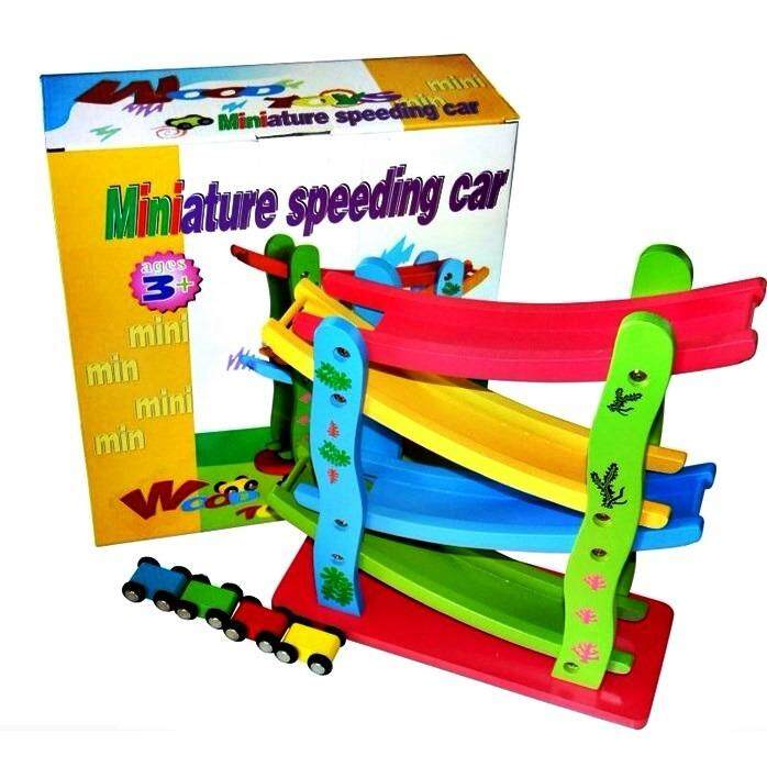 EARLY EDUCATION MINIATURE SPEEDING CAR