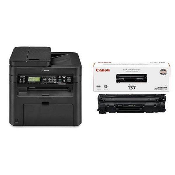 Laser Printer Drums & Toner Canon imageCLASS MF244dw Wireless, Multifunction, Duplex Laser Printer with Original Black Toner Cartridge - intl