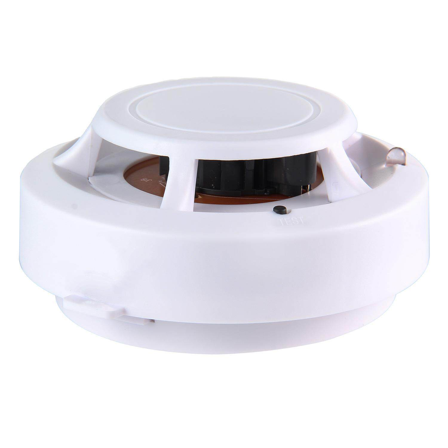 ZongHAX Smoke Alarm Fire Detector With Photoelectric Sensor,Wireless Smoke Detector Sensor Fire Alarm - intl