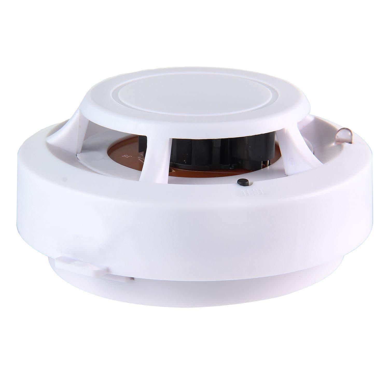 ZongHAX Smoke Alarm Fire Detector With Photoelectric Sensor,Wireless Smoke Detector Sensor Fire Alarm - intl