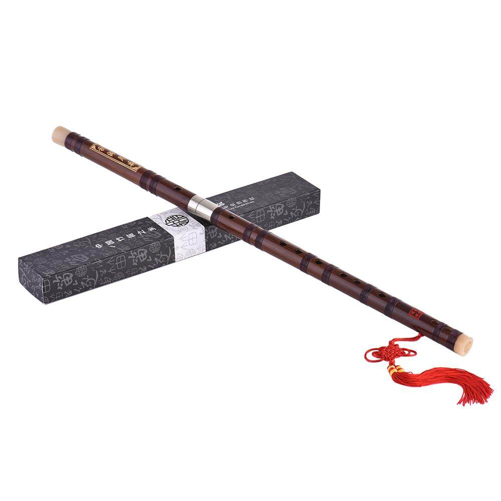 Pluggable Bitter Bamboo Flute Dizi Traditional Handmade Chinese Musical Woodwind Instrument Key of C Study Level Professional Performance