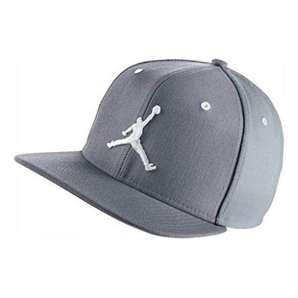 f9ea5fbad9f Nike Mens Air Jordan Jumpman Snapback Hat Cool Grey White 619360-067 - intl